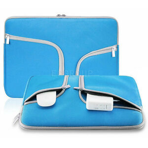 For-Various-13-034-13-3-034-Tablet-Laptop-Hand-Carry-Neoprene-Sleeve-Pouch-Case-Blue