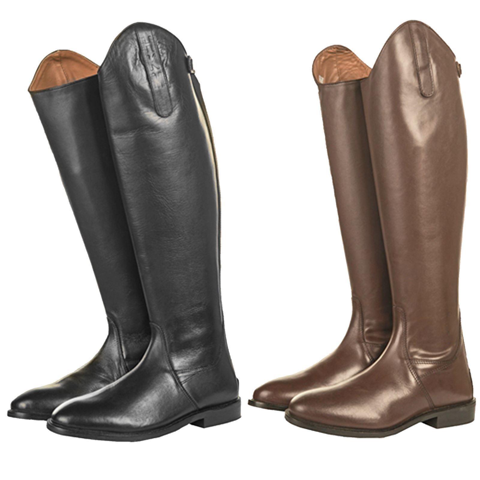 HKM Soft Adults  Soft HKM Leder Lined Short/Standard Width Horse Riding Long Stiefel 0eb63c