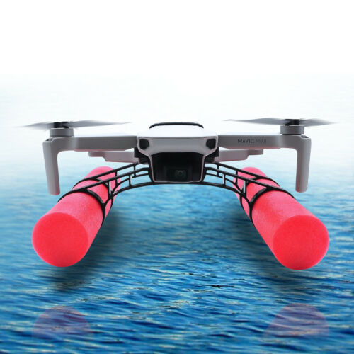 Red Float Landing Gear for DJI Mavic Mini Drone Buoyancy Frame  Black