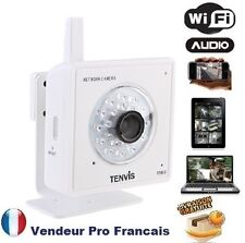 Camera Reseau IP Interieur infrarouge sans fil Wifi Smartphone Iphone M319W Blan