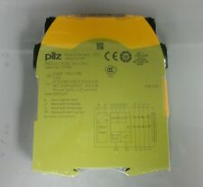 Factory Sealed Pilz PNOZ s4 safety relay,3n/o,1n/c