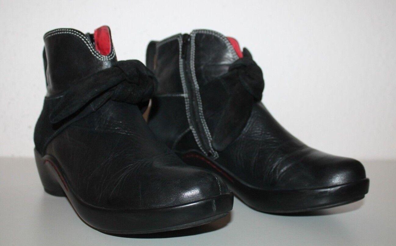 WOLKY  Damenschuhe Stiefeletten Boots Stiefeletten Damenschuhe Gr.39 Schwarz d6c588