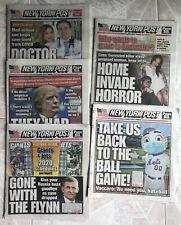 EPSTEIN GUARDS ARRESTED 2019 NOVEMBER 20 NEW YORK POST NEWSPAPER LEFT ALONE