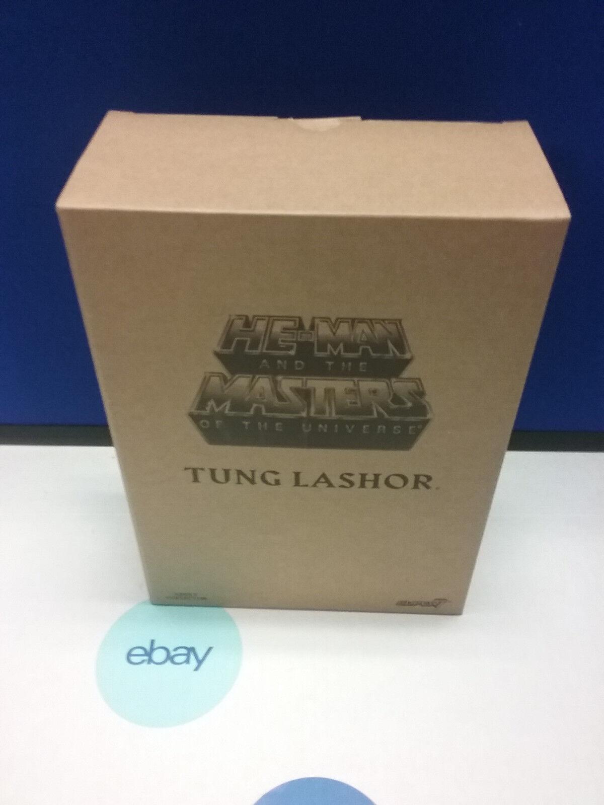 MOTU Classics Tung Lasher    Filmation Figure  Ship Worldwide Super 7   NEW b752a7