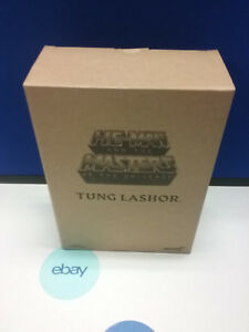 Motu Classics Tung Lasher Filmation Figure Ship Worldwide Super 7 Nouveau