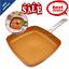 Healthy-Antiadherente-Induccion-Sarten-Cocina-Utensilios-De-Cocina-De-Cobre-Revestimiento-de miniatura 1