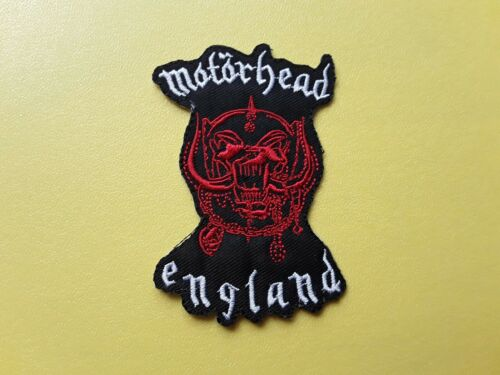 Motorhead Patch Embroidered Iron On Or Sew On Badge