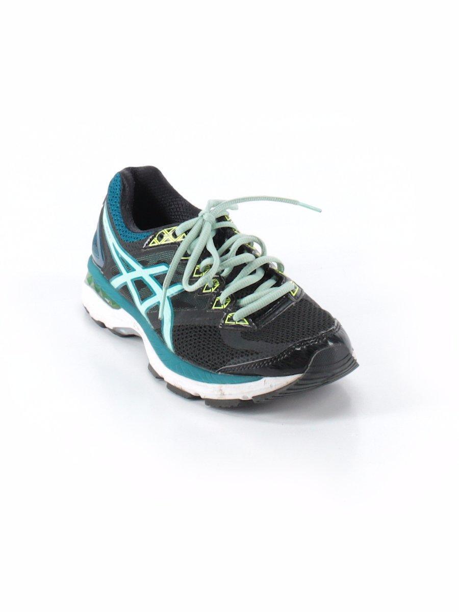 Women's Asics GT-2000 4 Running Shoes - Black/Blue/Yellow - EUC pronation Pool 8