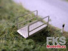 FKS 160-055-01 - Grabenbrücke, Set mit 6 Stück - Spur N - NEU
