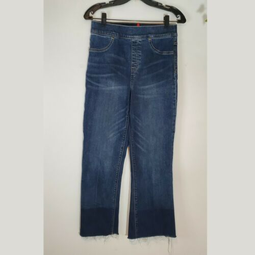 Spanx High Rise Cropped Flare Jeans