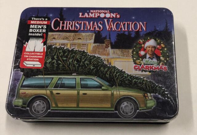 Christmas Vacation Car.Nwt Mens National Lampoons Christmas Vacation Boxer Shorts Boxers Medium 32 34