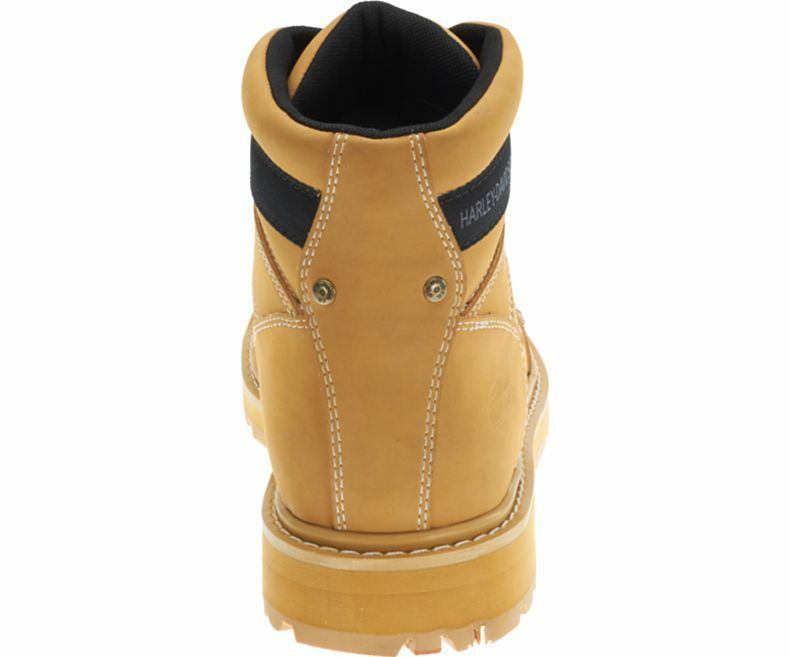 Man's/Woman's Harley Davidson Keating Men'S Tan Biker Boots Tan Men'S Beige Leather Ankle Work Boot Long-term reputation Environmentally friendly Cost-effective HW2203 e13a8c