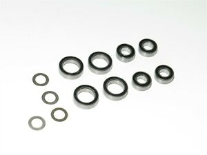 TKR7202 TEKNO RC ET410.2 TRUGGY FRONT REAR AXLE BEARINGS