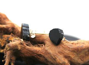 Pendientes-Gemas-Turmalina-Negra-Natural-Brasil-Plata-De-1-Ley-925