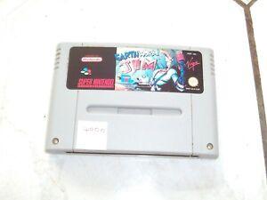 EARTHWORM-JIM-Rare-Super-Nintendo-SNES-Game