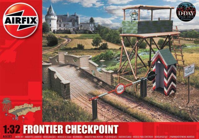 AIRFIX FRONTIERA Checkpoint 1:3 2 KIT modello A06383