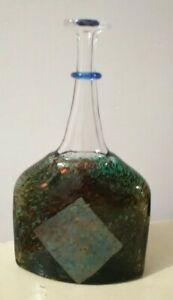 Kosta-Boda-Vallien-Art-Glass-Satellite-Bottle-Signed-6-5-034