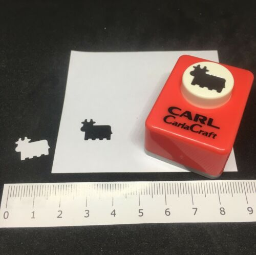 UK Seller Carla Craft Cow Bull Punch Scrapbooking Card Making Tool Cutter Hole