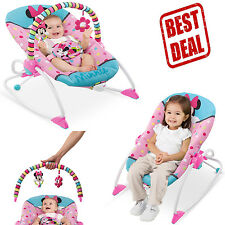 Infant To Toddler Rocker Chair Baby Seat Recliner Vibrating Sleeping Newborn New  sc 1 st  eBay & Disney Baby Minnie Mouse Peekaboo Infant to Toddler Rocker | eBay islam-shia.org