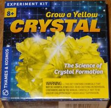 Grow a Yellow Crystal Science of Crystal Formation Thames and Kosmos Experiment
