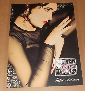Siouxsie-amp-The-Banshees-Superstition-Poster-Original-1991-Promo-24x18-RARE