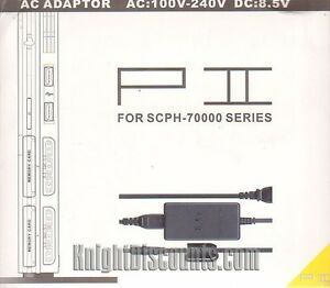 PS2-SLIM-AC-ADAPTER-amp-Power-Cable-Cord-Playstation-2-7000-Series-Consoles-NEW