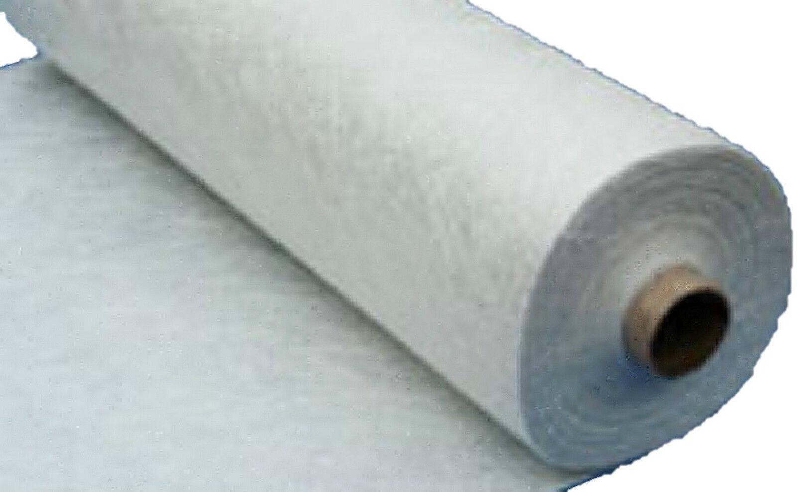 Glasfasermatte 150g m² 50m² für Polyesterharz Epoxidharz GFK Teichbau Reparatur