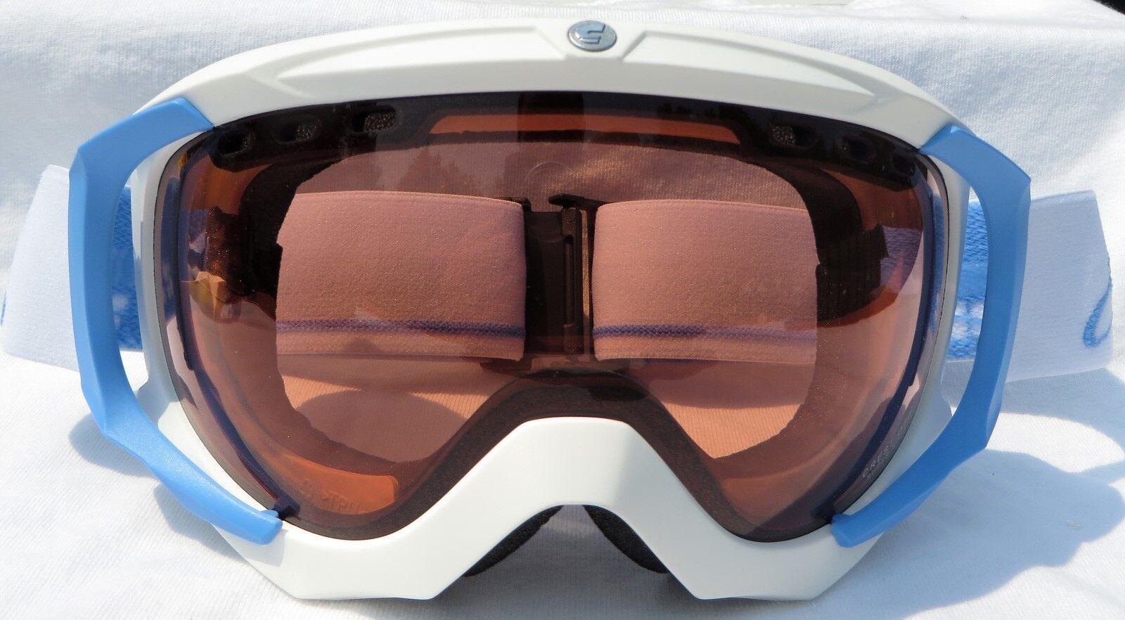 Carrera Mens Crest White bluee OTG Fit Over Glasses Goggles pink Spy Lens