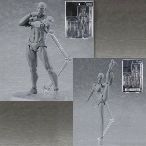 Figma 2.0 She//he S.H.Figuarts Body SET PVC Body-Chan Action Figure In Box