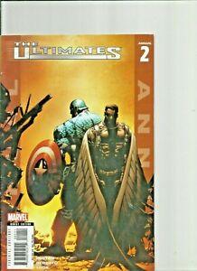 Marvel Ultimates Lot of 5 Annuals Capt  America Spiderman Fantastic four