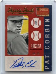 2014-AMERICA-039-S-PASTIME-MM-PC-PAT-CORBIN-AUTOGRAPH-8-25-ARIZONA-DIAMONDBACKS