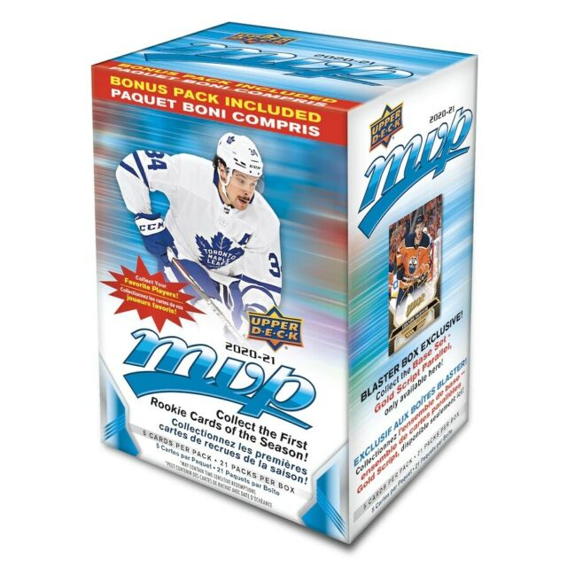 2020-21 Upper Deck MVP Hockey Retail Blaster Box In Stock