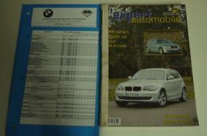 100% De Qualité Revue Technique L'expert Automobile 495 Bmw Série 1 01/2007-> Diesel 118 & 120 D