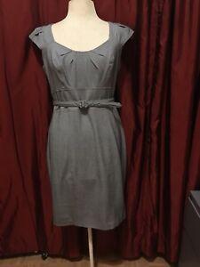 Xoxo Gray Womens Dress Suit Career With Tahari Navy Blue Blazer