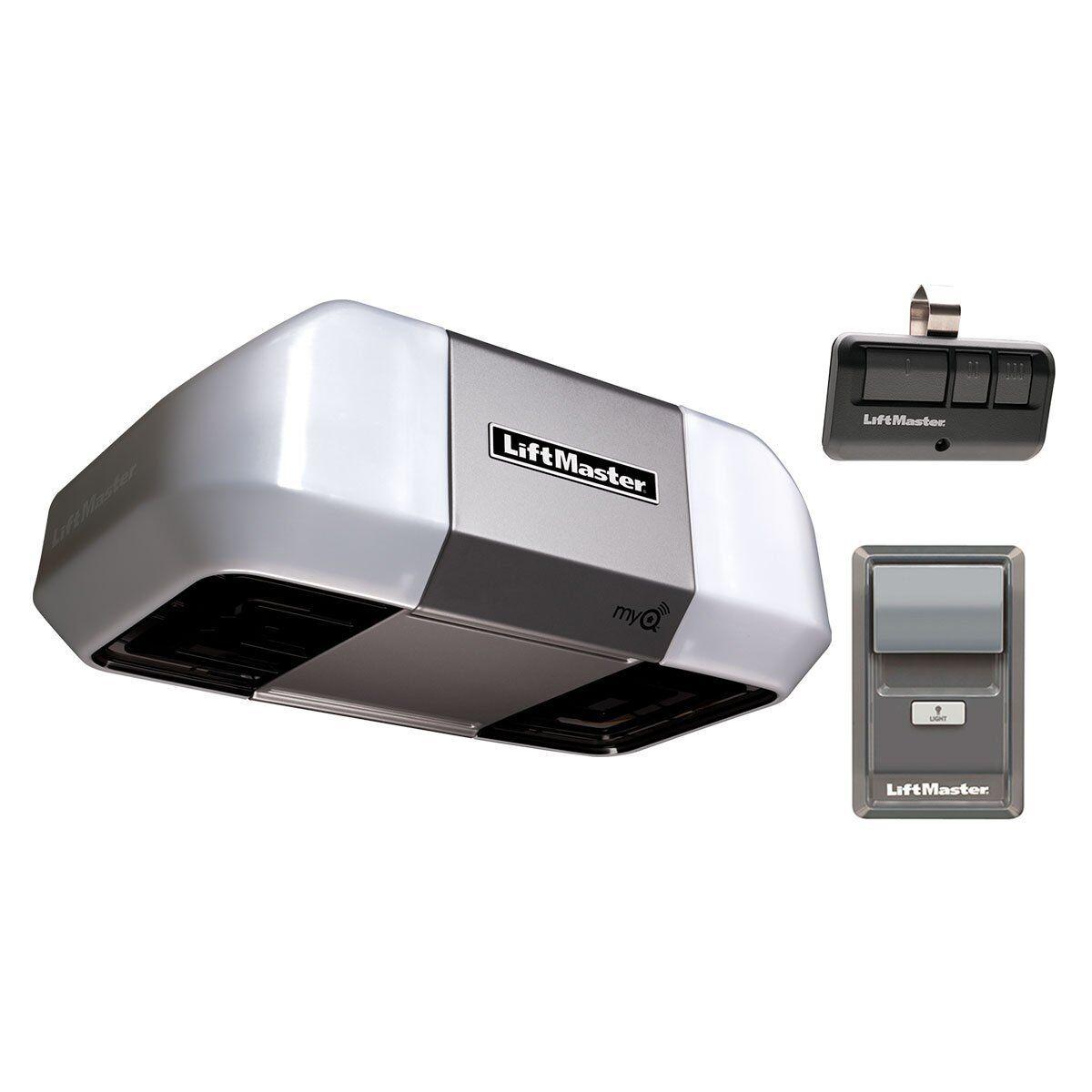 Liftmaster 8355 3280 1 2 hp ac belt drive garage door for 1 horsepower garage door opener
