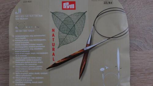 Tricot Aiguille Set Prym Knit Pro Natural tricoter 8 Paire Aiguille Pointes cordes sac