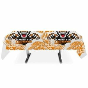 NRL-Wests-Tigers-Plastic-Table-Cover-Tablecloth