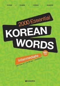 2000 essential korean words intermediate pdf