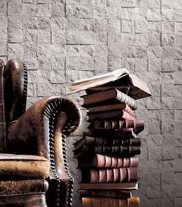 grob wand stein eckig 3d effekt merkmal strukturtapete j19009 ebay. Black Bedroom Furniture Sets. Home Design Ideas