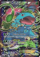 POKEMON CARDS GENERATIONS VENUSAUR-EX FULL ART HOLO PROMO CARD XY123 - NM/MINT