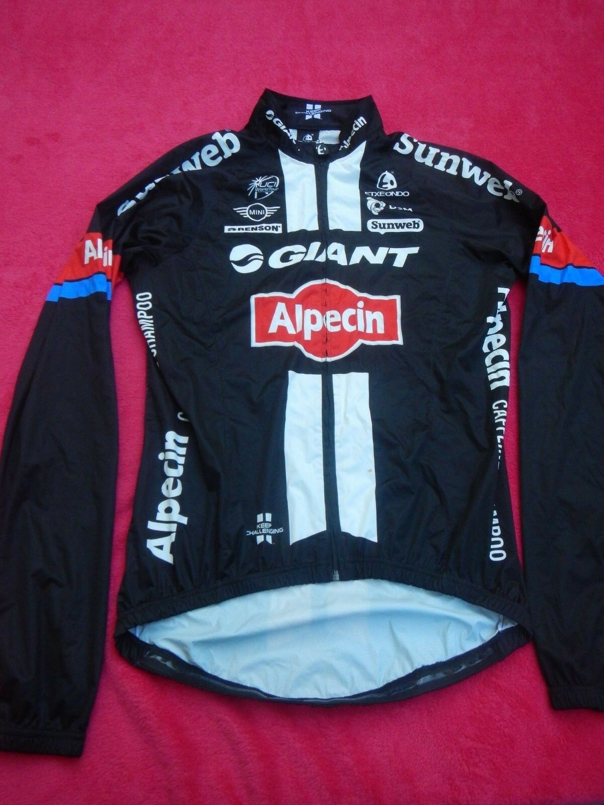 Original Team Giant Alpecin Pro Team Cycling Wind Langarm Jacke M NEU  Rar