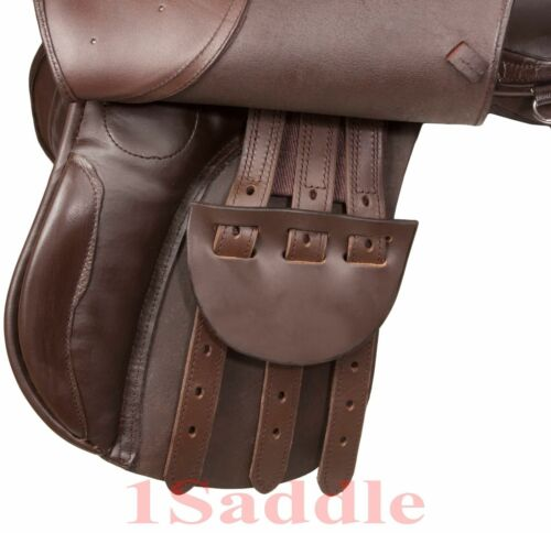 All Purpose Brown English Leather Starter Package Horse Saddle Tack 16