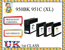 4 CHIPED COMPATIBLE 950XL&951XLHigh Capacity & Quality Cartridges for hp printer