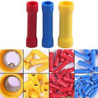 100 X Assorted Insulated Straight Butt Connector Electrical Crimp Terminals Wire