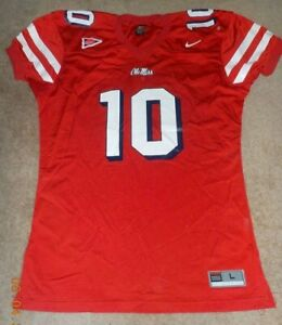 watch 1b636 41a07 Details about 2003 Eli MANNING Ole Miss Game Jersey - MISSISSIPPI Rebels -  Possible Game Issue