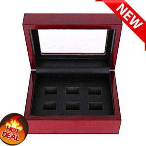 Zubehör Offen Champion Ring Wooden Display Box For World Series Stanley Cup 2/3/4/5/6holes A+ Uhren & Schmuck