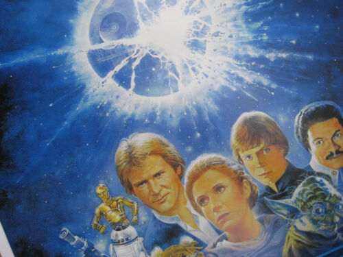 "11/"" x 17/"" Return of the Jedi Star Wars Movie Collector/'s Poster Print-B2G1F"
