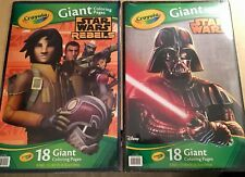 crayola star wars giant coloring pages model 22619775 ebay