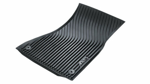 Original Audi A6 4G C7 Gummimatten Gummifußmatten vorn schwarz 4G1061501  041