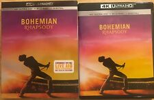 BOHEMIAN RHAPSODY 4K ULTRA HD BLU RAY 2 DISC SET + SLIPCOVER SLEEVE FREE SHIPPIN